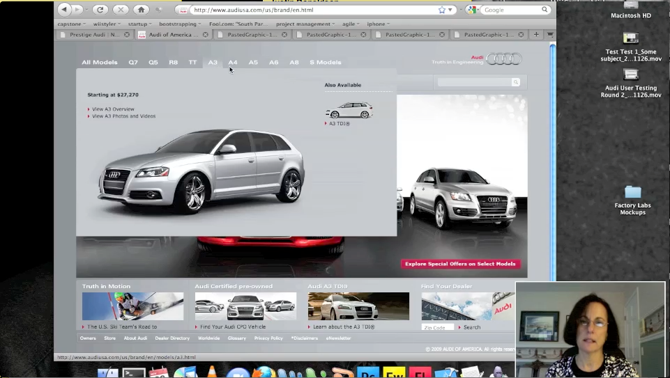 Audi USA UX Revamp Andrew McKinney - Audi usa models